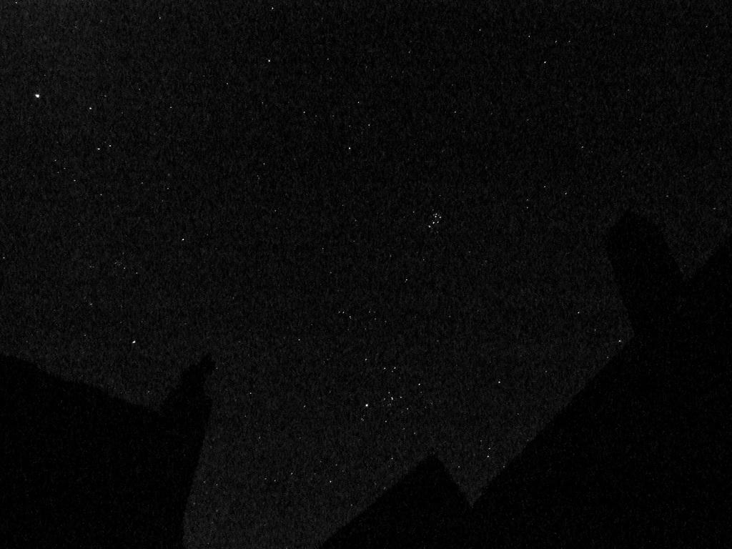 Sternklarer Himmel im Südosten