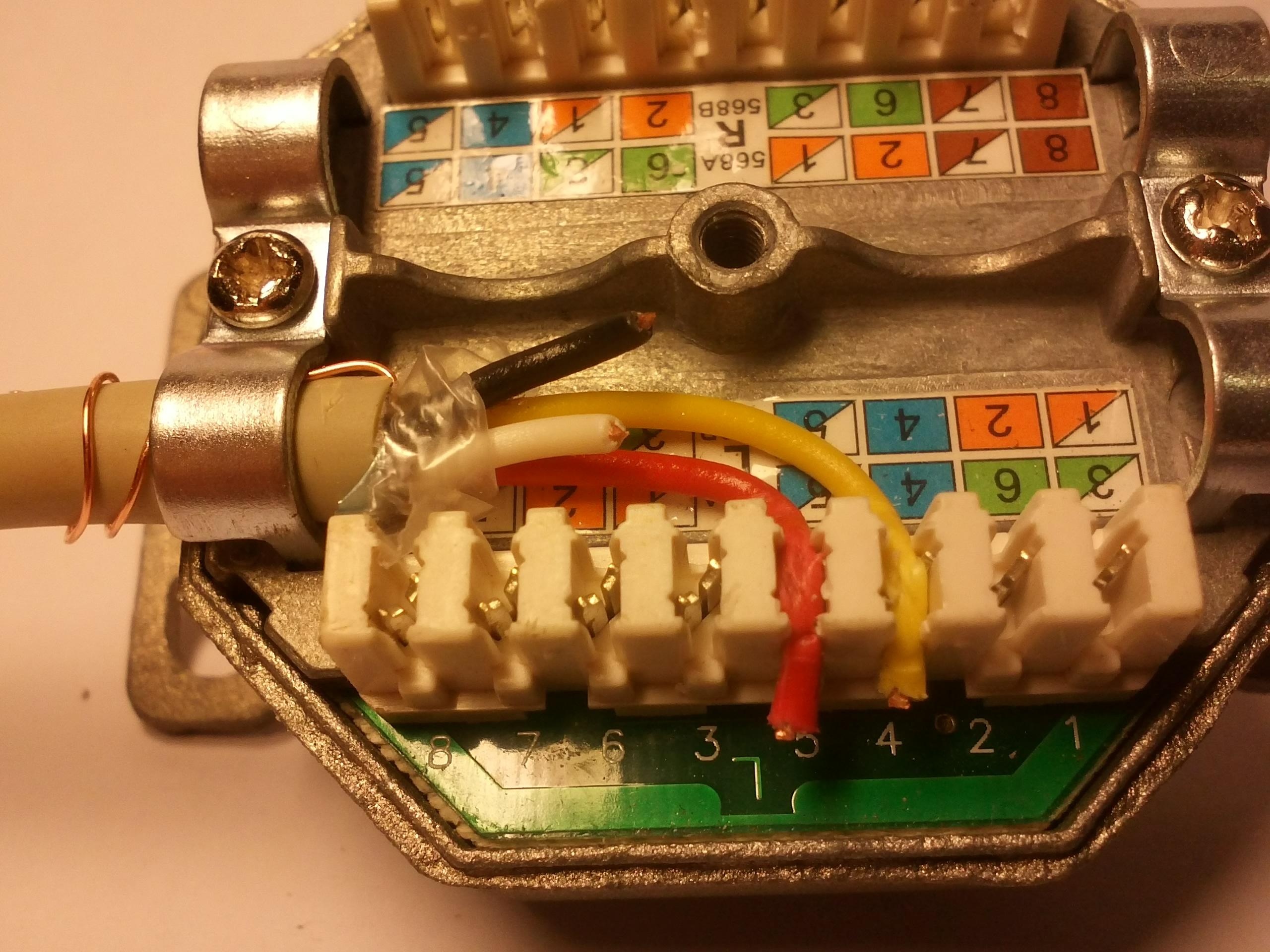 Fritz!Box-DSL Uplink mit Patchkabel an Telefonleitung – Hof Isem