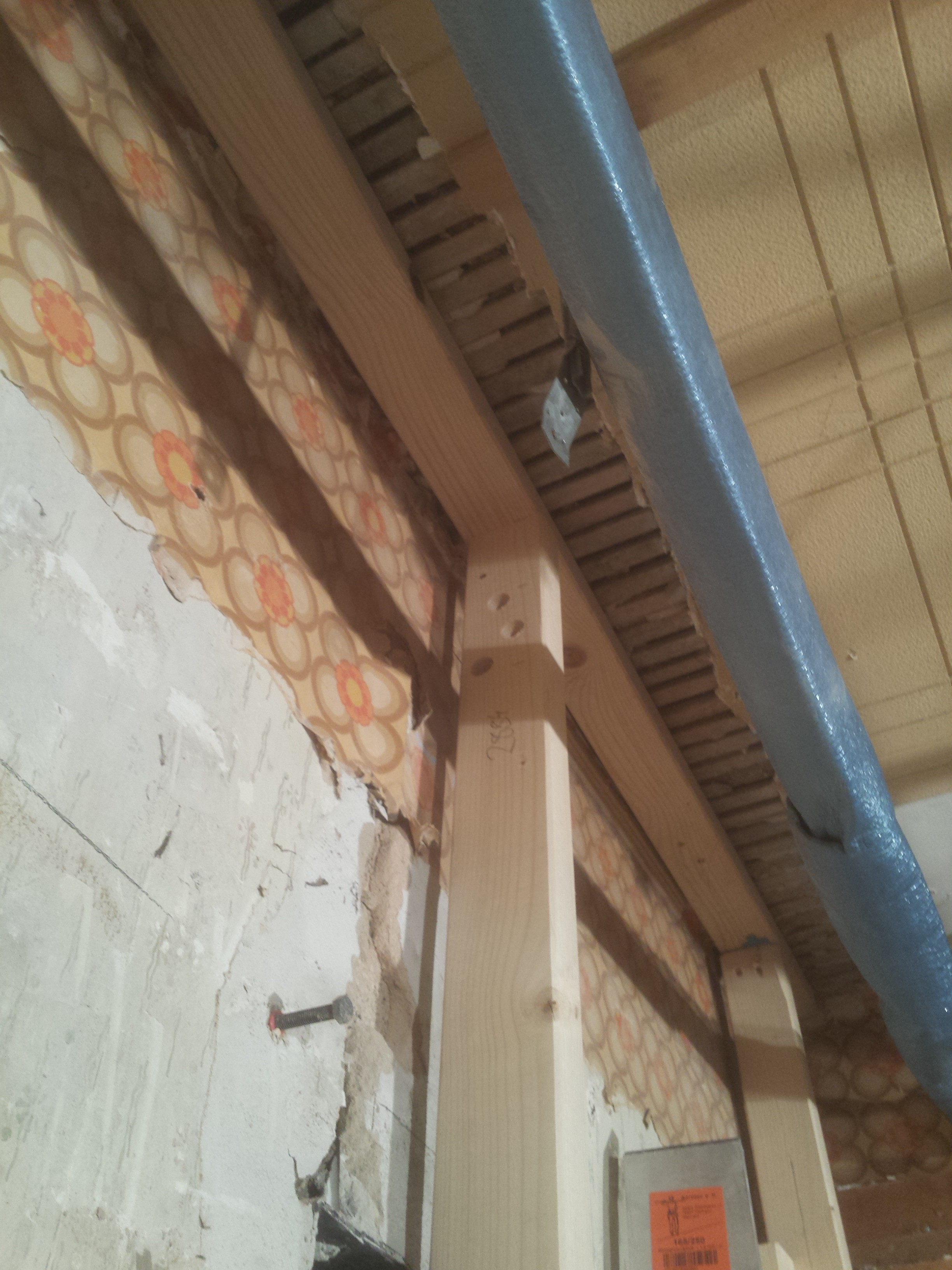 Aufbau der Küchenwand [Updates 1,2,3,4,5, …] – Hof Isem